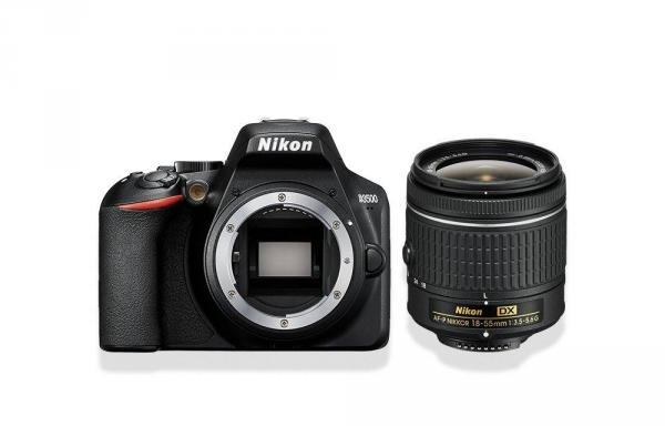 Nikon D3500 Digital SLR + 18-55mm AF-P DX Lens in Black