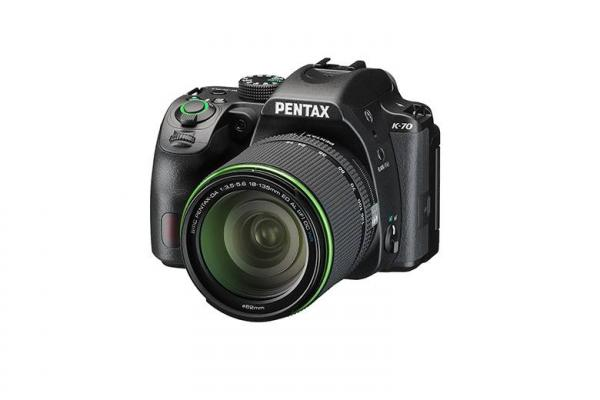 Pentax K-70 Digital SLR with DA 18-135mm WR Lens in Black