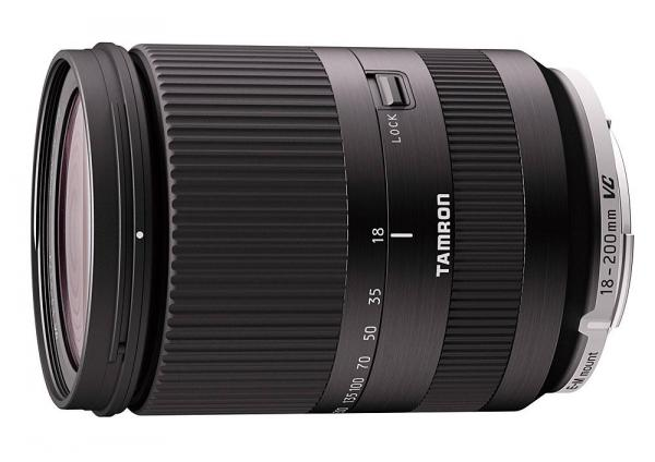 Tamron 18-200mm f3.5-6.3 Di III VC (B011 black) Canon EOSM fit