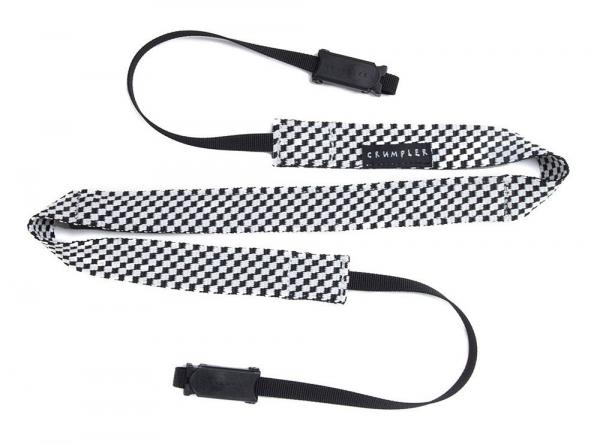 Crumpler CHECK STRAP in black and white