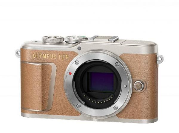 Olympus PEN E-PL9 Body Only in Brown