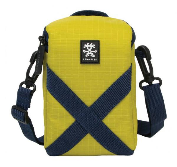 Crumpler DREWBOB POUCH 200 in lime and dark blue