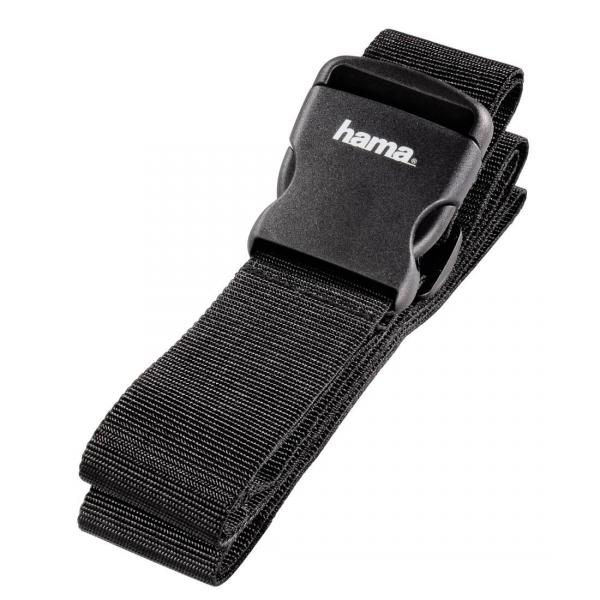 Hama 5cm x 200cm Luggage Strap in Black