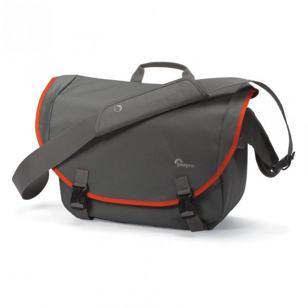 Lowepro Passport Messenger in Grey and Orange