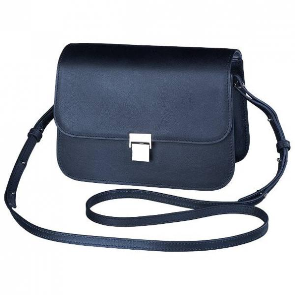 Olympus Shoulder Bag Leather Collection Black Like My Dress
