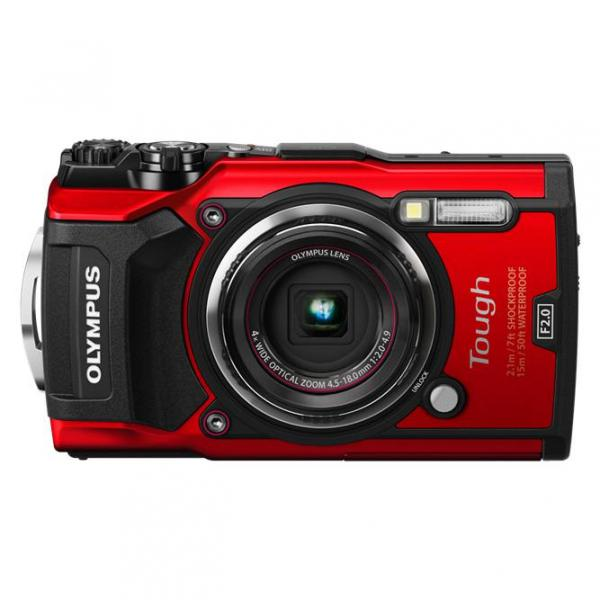 Olympus Tough TG-5 Camera in Red