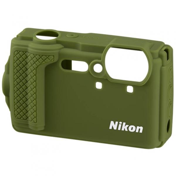 Nikon W300 Silicone Jacket in Green